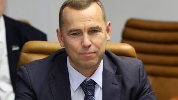 Глава Курганской области Вадим Шумков ушел в отпуск