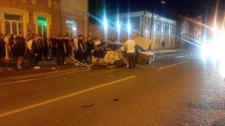 За рулем был полицейский. Подробности ДТП в центре Тюмени, где иномарка сбила пешеходов