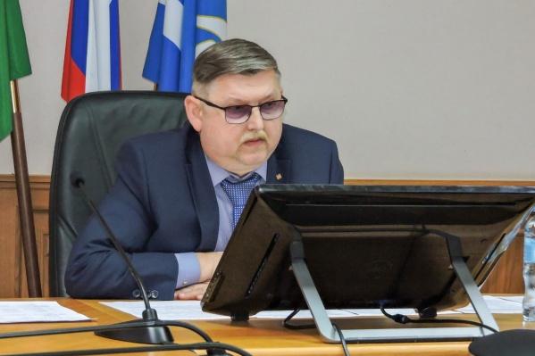 Владимир Куликов вновь стал главой города в ноябре прошлого года