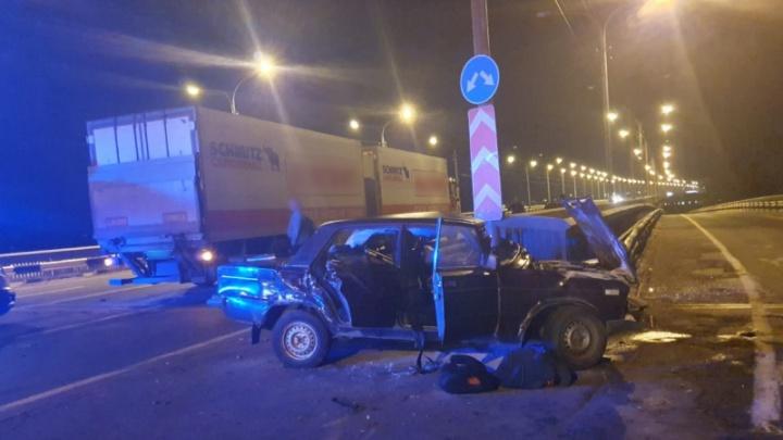В ДТП на Краснофлотском мосту погибла женщина