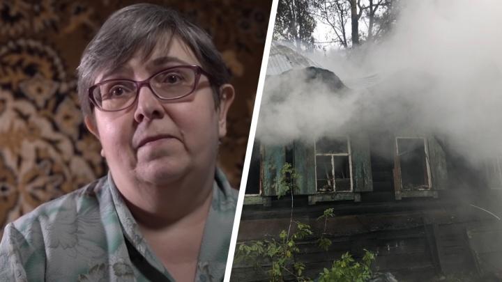 «Мы всегда вас будем помнить»: в сгоревшем частном доме погибла подопечная известного блогера