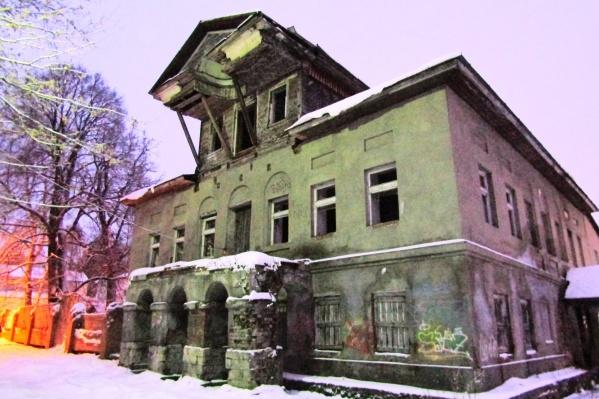 Дом был построен в период с 1809 по 1812 годы