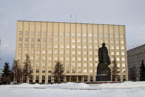 Здание Архангельского областного собрания депутатов — один из проектов прекратившего существование «Архангельскгражданпроекта»