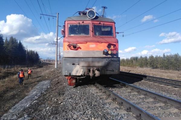 Пришлось перекрыть железнодорожное сообщение