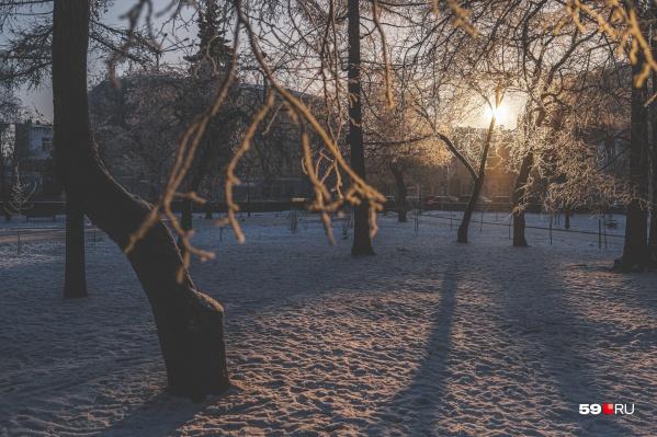 В феврале бывает очень красиво. Успевайте насладиться последним зимним месяцем