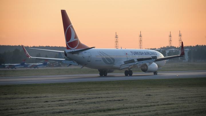 Turkish Airlines возобновит прямые рейсы из Екатеринбурга в Стамбул
