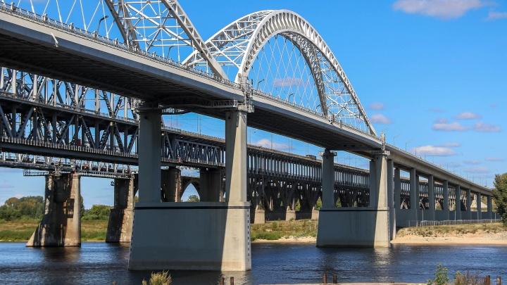На старом Борском мосту начнут ограничивать движение с 20 сентября. Там положат новый асфальт и отремонтируют швы