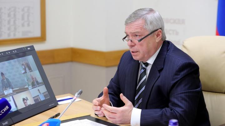 Донской губернатор Василий Голубев признал проблемы с поставкой вакцины от COVID-19