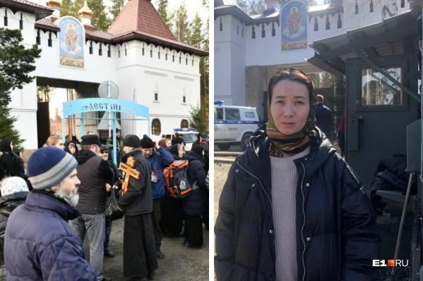 Ксения Ли вместе с супругом уже семь лет приезжает в монастырь отца Сергия