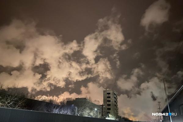 Вид на КАО «Азот» с улицы Шатурской