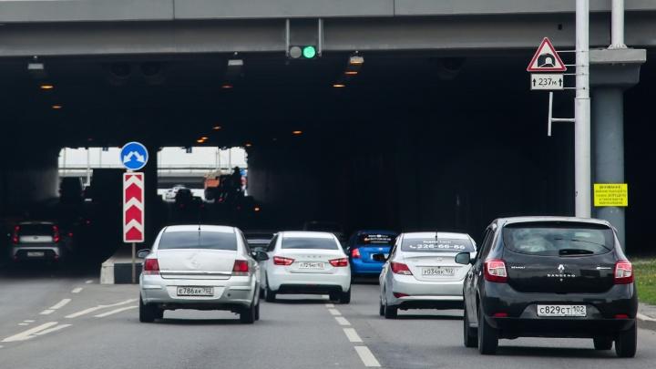 На освещение тоннеля на проспекте Салавата Юлаева в Уфе потратят 15,3 миллиона рублей