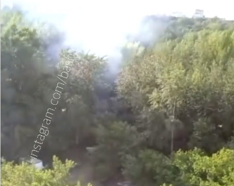 В Уфе горит Непейцевский дендропарк