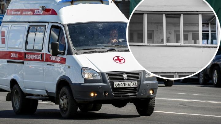 Ребенок умер, выпав из окна в Нижегородской области