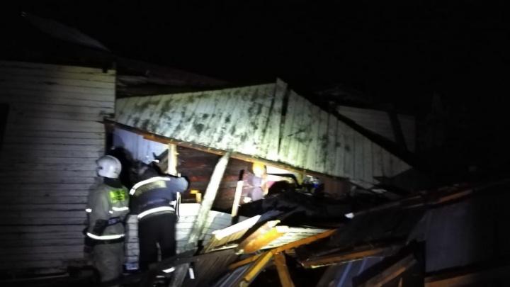 Еще один взрыв газа в Омской области: разрушен частный дом, пострадавшая в реанимации