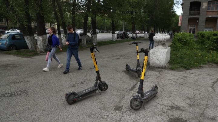 В Новосибирске популярный шеринг электросамокатов перестал работать на левом берегу