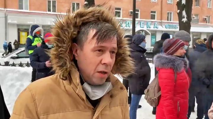 В Березниках задержали юриста пермского штаба Навального Артёма Файзулина