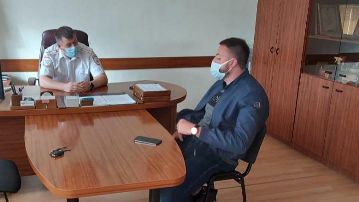 Ездил по встречке и на красный, но боялся прийти без адвоката: ГИБДД нашла тюменского лихача на Lexus