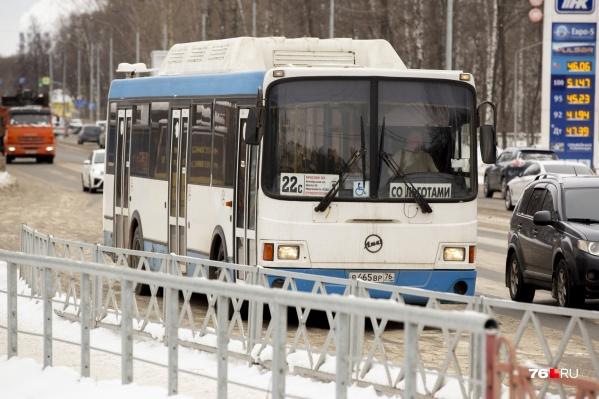 В Ярославле изменили транспортную схему