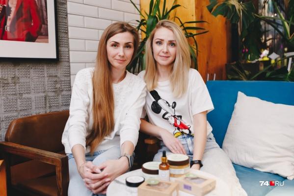Алиса (слева) и Кристина дружат 13 лет, половину из этого времени они ведут совместный бизнес