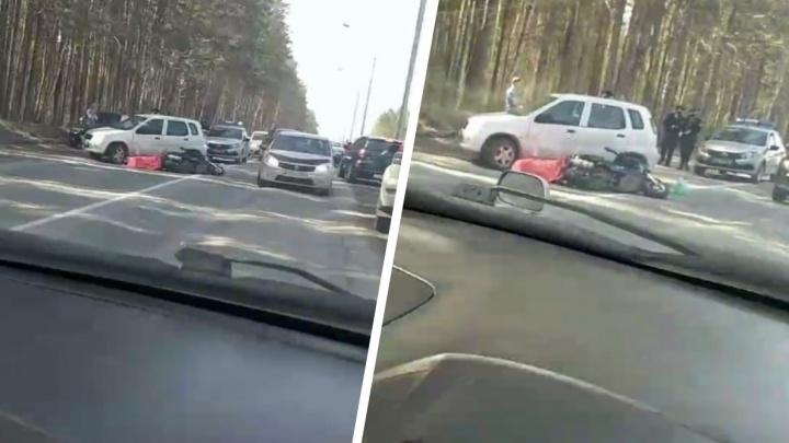 Водитель мопеда погиб в аварии на Балтийской