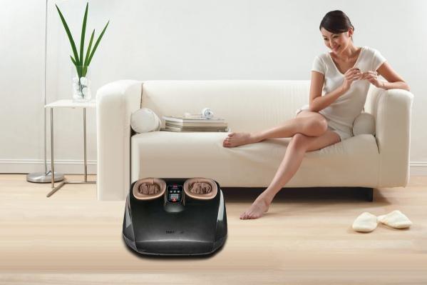 Регулярный массаж ног помогает снимать усталость и тянущие ощущения