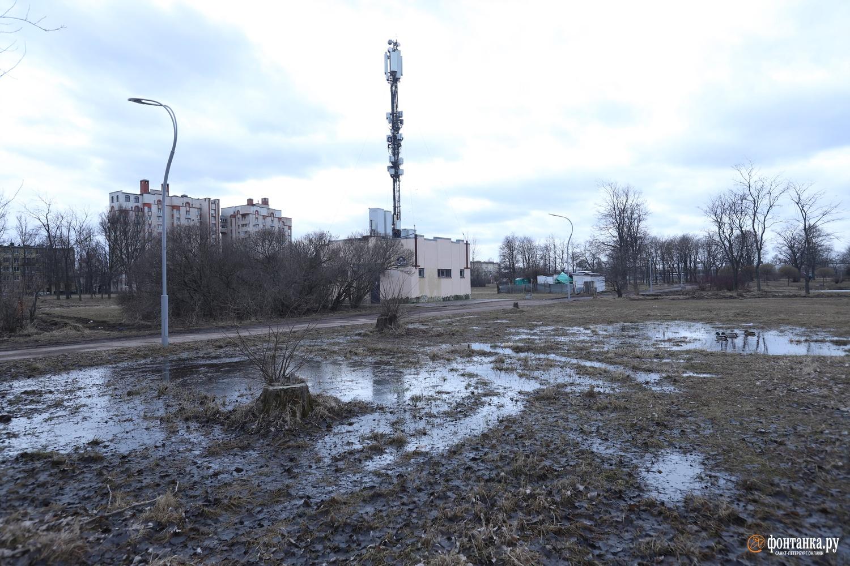 Парк Авиаторов в Московском районе