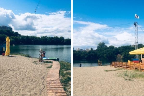 Сегодня в озере утонул мужчина
