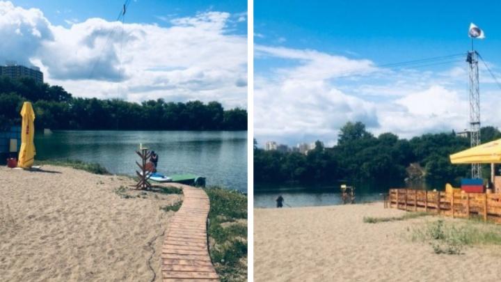В Новосибирске в озере возле «Советской Сибири» утонул мужчина