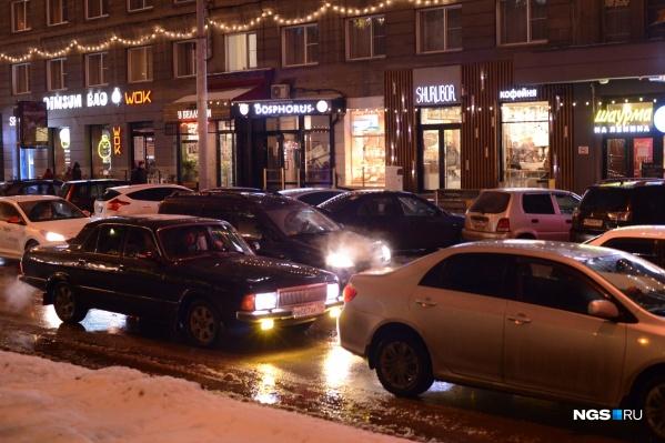 Хуже всего в Новосибирске ситуация на дорогах по вечерам