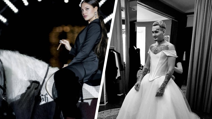 Красноярский дизайнер Дмитрий Логинов создал наряды для свадьбы Моргенштерна