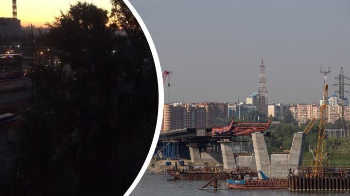 «Закрытые окна не помогают»: строители четвертого моста забивают сваи по ночам — почему это нельзя изменить