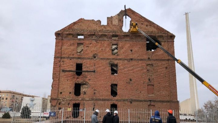 Пока гром не грянет: в Волгограде провели обследование мельницы Гергардта