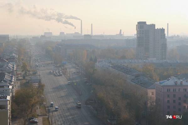 Сизая дымка накрыла город ранним утром и не рассеивается уже несколько часов