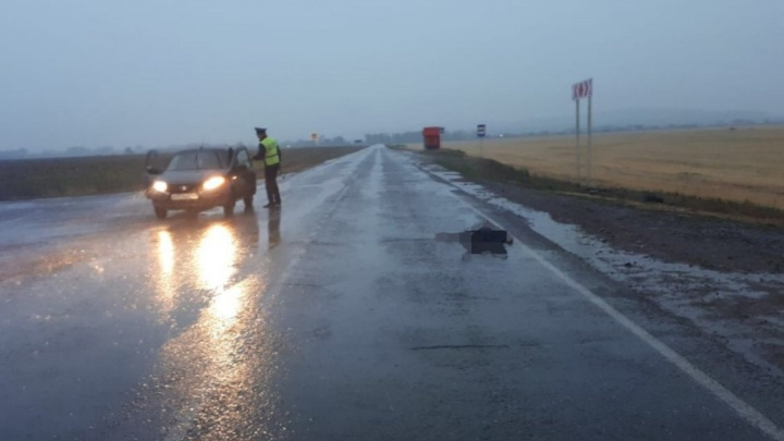 В Башкирии ищут водителя, насмерть сбившего пешехода