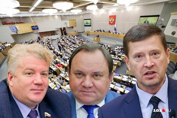 Меньше всего законопроектов за пять лет у единоросса Виктора Дерябкина