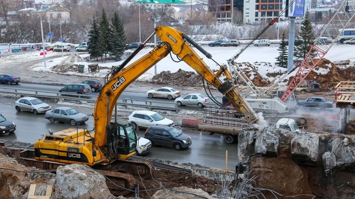 «Круглосуточно и без выходных»: самое важное о реконструкции развязки Валиди — Юлаева вУфе