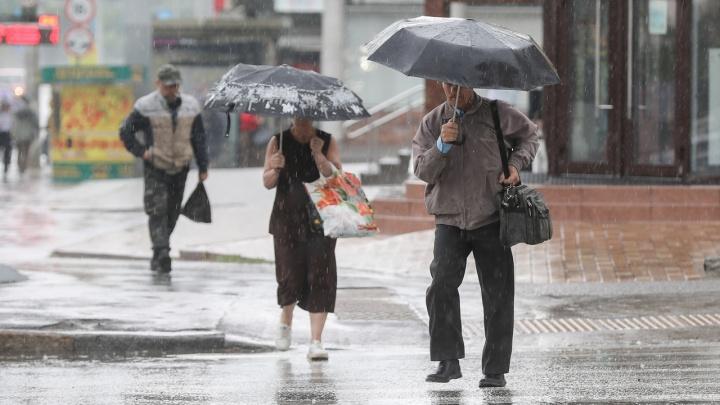 На Волгоград надвигаются проливные дожди и шквалистый ветер