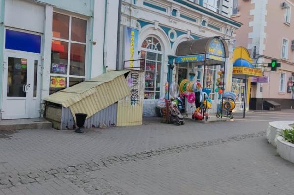 «Парадный» центр туристического города. Ейск застрял в 90-х годах, гулять по нему, мягко скажем, не тянет