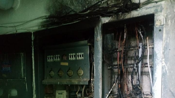 В Волгограде после дождя выгорела вся проводка в девятиэтажке