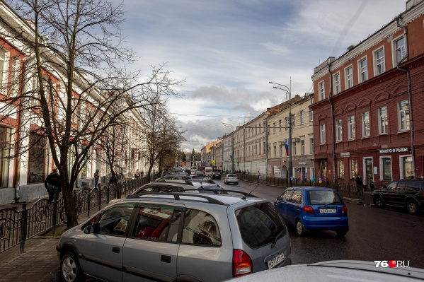 Комсомольская — одна из самых «плотных» улиц города