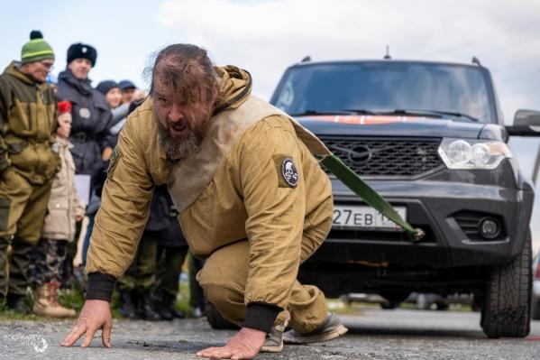 Финалом фестиваля каждый год становится тяга автомобиля «УАЗ-Патриот»
