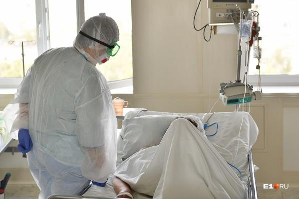 В больницах снова растет число пациентов с ковидом