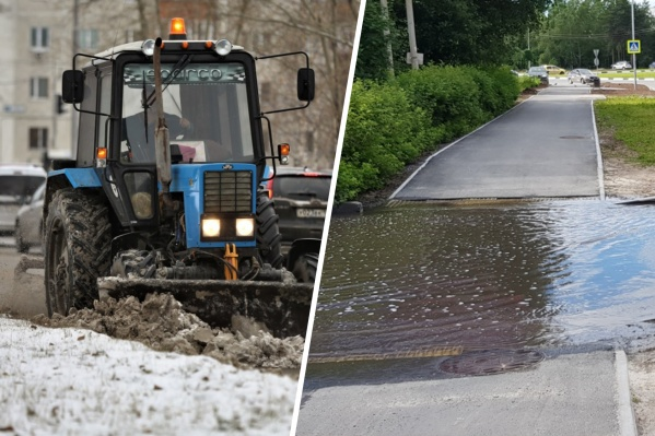 В Сургуте намерены избавиться от двух серьезных проблем — снежных заносов и подтоплений
