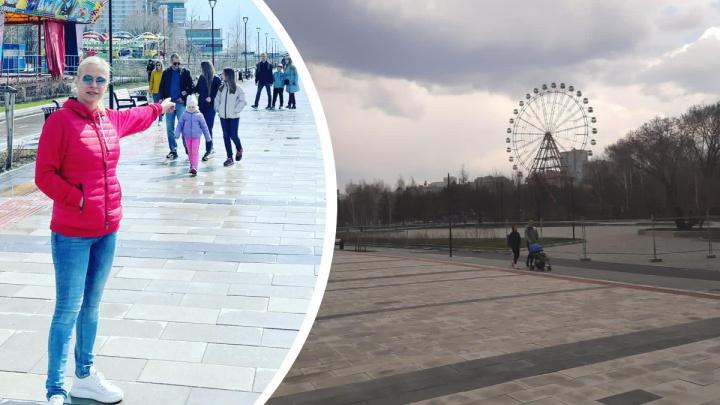 На набережной в Новосибирске открыли променад, который не работал с осени