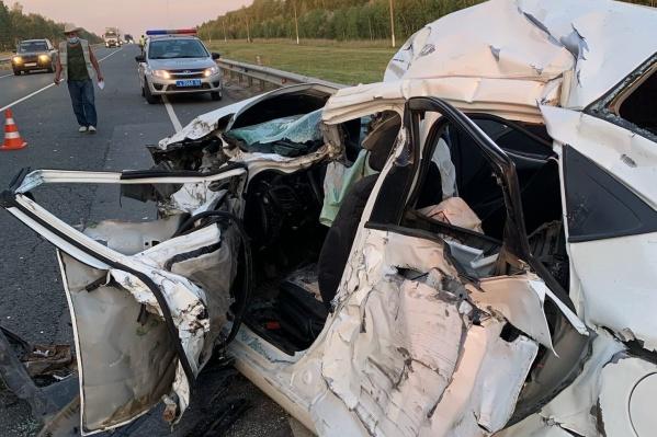 В ДТП погиб мужчина из Екатеринбурга