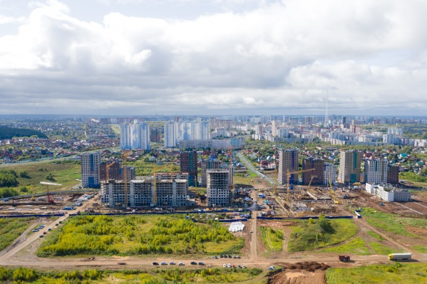 Недавно в новом квартале ЖК «Погода» начались продажи квартир