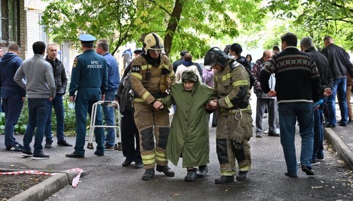 Прокуратура: взрыв газа на Магнитогорской повредил стену, но угрозы разрушения дома нет