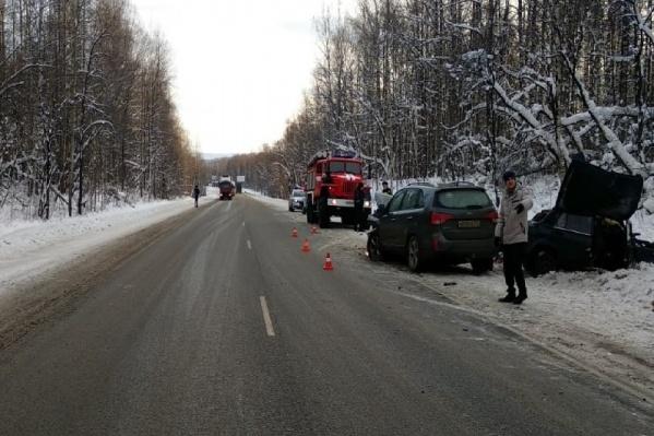 В результате ДТП «семерку» выбросило в кювет, ее водитель погиб на месте происшествия