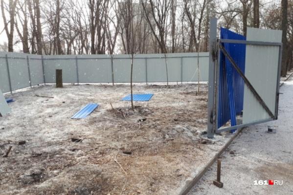 Андрей Коровайко проявлял интерес к территории завода еще несколько лет назад