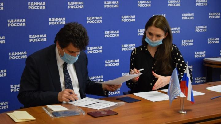 Александр Высокинский решил стать депутатом Госдумы